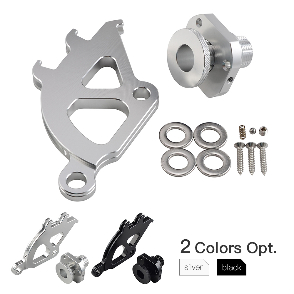 NICECNC Billet Firewall Adjuster & Clutch Quadrant Kit For Ford Mustangs 1996 1997 1998 1999 2000 2001 2002 2003 2004