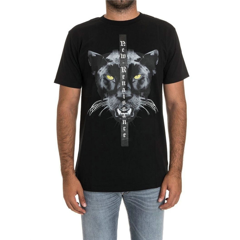 3D cat T Shirt Men Women 1:1 High Quality Marcelo Burlon Wing Milan T Shirt for Men Casual Marcelo Burlon short sleeve T Shirt
