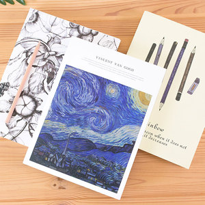 Image 2 - 1pcs  Thicken Sketch Blank Paper Sketchbook Picture Book Hand painted Special Art Painting Paper Graffiti Watercolor Painting