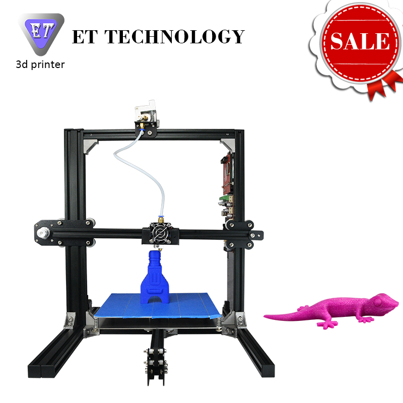 2017 HOTTEST High Precision Reprap Prusa i3 3D Printer DIY kit Bowden Extruder Auto Leveling LCD
