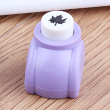 Photo Album DIY 1.5cm Shape maple leaf Craft punch Children middle size hand maker hole punch children toy free shipping puncher