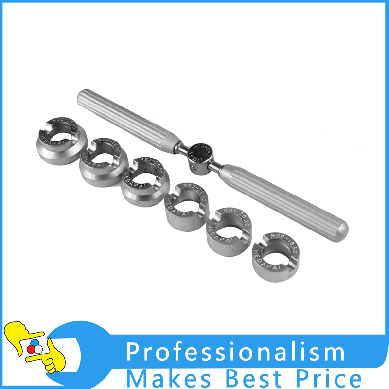 High Quality Professional Set of 6 Case Openers for Watch 18.5-29.5mm Watch Case Opener corporate governance and quality of earnings