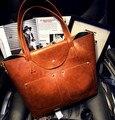 2016 новый большие булочки мать мешок портативный одного плеча сумки ретро youpi женщины сумка сумки