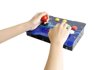 Image 3 - Waveshare Arcade C 1P Zubehör Pack Arcade Konsole Gebäude Kit für Raspberry Pi 1 Player Unterstützt RetroPie/KODI