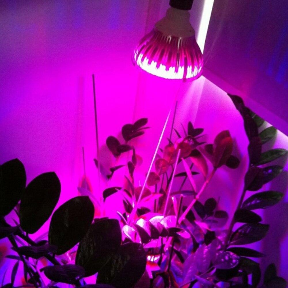 Купить с кэшбэком E27 Full Spectrum 45w Led Grow Light Bulb Pa38 85-265v  Led Aquarium Lamp for Coral Reefs And Fishes