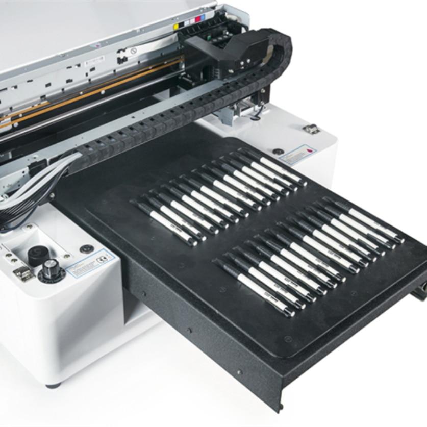 OEM Low Cost A3 Size LED UV Printer Glass Printing Machine Metal Plate Ceramic Tile Printer