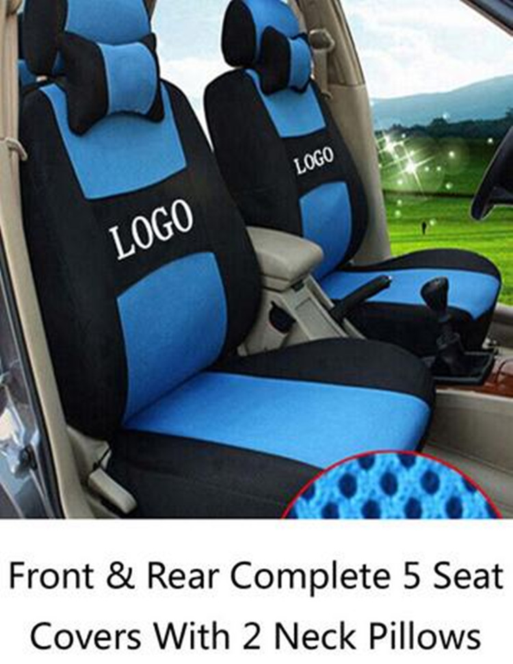 Dedicated Sandwich Seat Covers Wraparound Front&Rear Complete 5 Seat For Skoda Octavia 2 a7 a5 Fabia Superb Rapid Yeti Spaceback