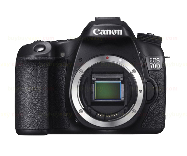 Canon EOS 70D 20.2 MP 3 Touch LCD Wi-Fi DSLR Camera Body Only Mult-Language canon eos 760d t6s dslr camera body