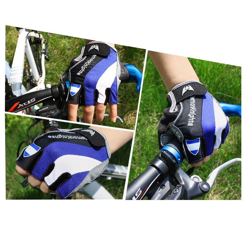 Купить с кэшбэком Bike Gloves Bicycle Mtb Cycling Glove Bicicleta Short Guantes Ciclismo Lycra Spandex Half Sports Cotton Nylon Linen Riding Men