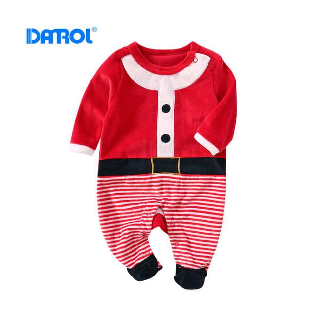 a9c1dd6f6 Online Shop Baby Bodysuits 0M-12M Longsleeve Bodysuits Christmas Boy ...