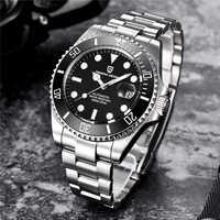PAGANI DESIGN Fashion Marke Kreative Luxus Männer Automatische Mechanische Uhr Leucht Freizeit Kalender Automatische Mechanische Uhr