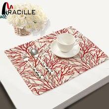 Современные столовые приборы miracille из хлопка и льна чайное