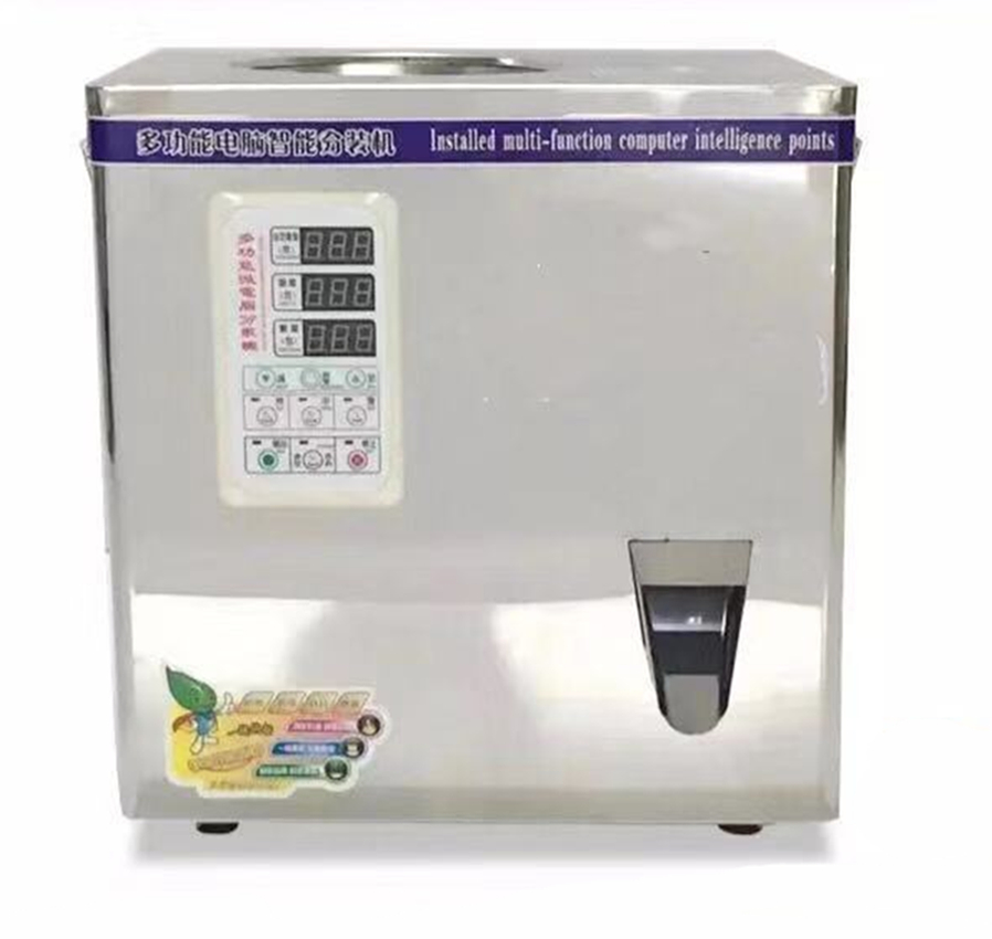 2-50g Automatic  Tea Or Herb Filling Machine With Spiral Feeding