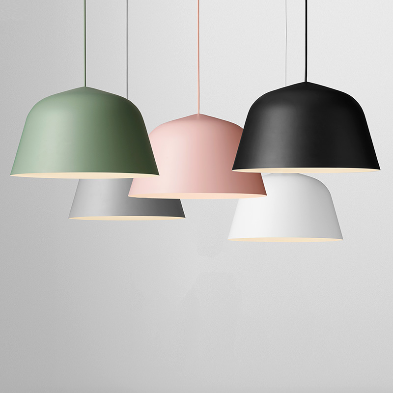Modern Colorful Aluminum Pendant Lamps Living Room  Restaurant Bedroom Decorative Pendant Lights Lamparas Home Lighting Lampe 2016 new luminaire lamparas pendant lights modern fashion crystal lamp restaurant brief decorative lighting pendant lamps 8869
