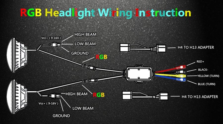 Led Halo Headlight Wiring Diagram - All Diagram Schematics Halo Light Wiring Diagram on