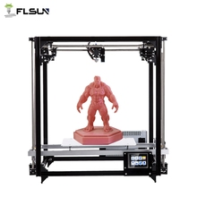 Flsun Square 3D Printer Kit Large Printing Area 260*260*350mm 3.2 Inch Touch Screen Auto Leveling Heated Bed One Rolls Filament полотенцесушитель водяной terminus классик п5 400x630