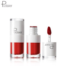 Brand New Lipstick Small White Bottle Matte Lip Gloss Lasting Moisturizing Waterproof Non-Stick Cup Glaze Make Up