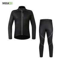 WOSAWE мужская куртка для велоспорта велосипедная одежда трикотаж жная куртка ветровка, колготки брюки Вихрь водостойкий