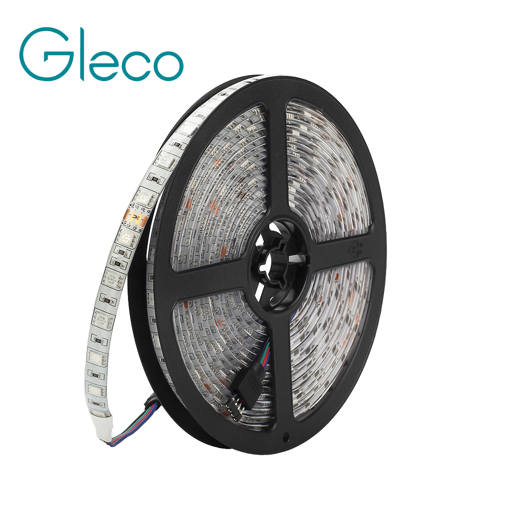 DC24V LED Strip 5050 60LED/m 5M IP20 IP65 LED Flexible strip Light 5050 SMD RGB white,warm white 5m 300pcs 5050 smd leds 72w 2000lm ip65 waterproof highlight decoration black strip lamp warm white light