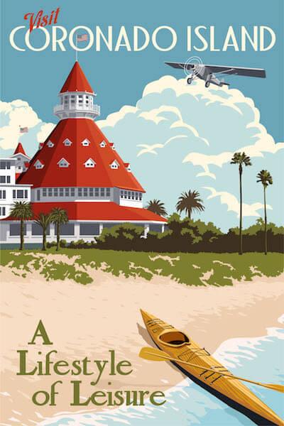 Ipanema Beach, Brazil Art Travel Landscape Vintage Retro Poster Decorative Wall Stickers Posters Bar Home Decor Gift