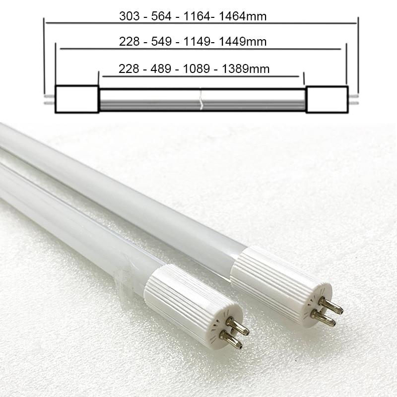 2pcs T5 G5 Led Tube Light 8w 0.6m 2ft 600mm 564mm G5 Tube Led Light AC180~265v 220v Cold White Warm White
