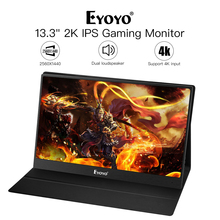 Raspberry Monitor EM13J 13.32540x1440 Portable PC Gaming IPS Game 4K HDMI Input laptop LCD LED Display