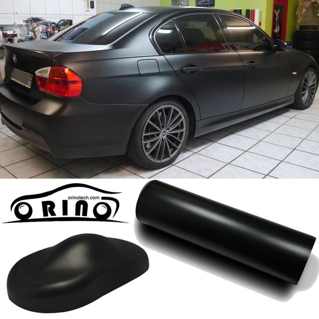 High Quality Matte Black Car Wrap Vinyl Film Matte Vinyl Wrap With