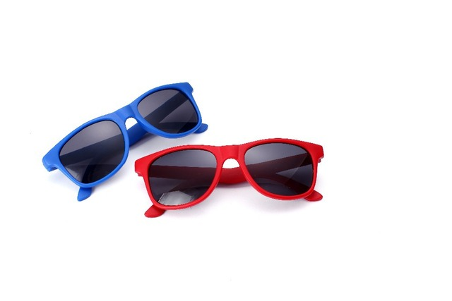 4bdbc106ab9 Hot Kids Plastic Frame Sunglasses Baby Boys Girls Pure Color Eyewear 2  Colors Cheap shipping   Drop shipping