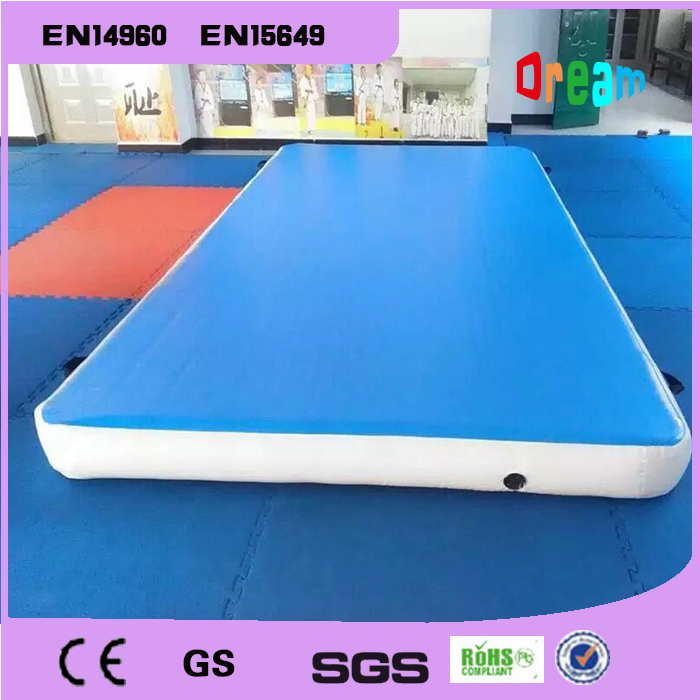 free shipping 21m inflatable tumble track trampoline air track gymnastics inflatable air mat