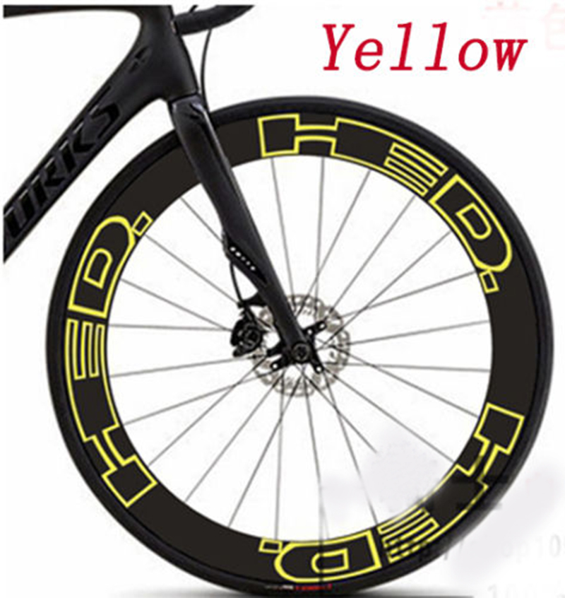 2017 Road Bike two Wheels Rim set replacement Stickers for HED 30 mm Bicycle cycling Race Decals free shippiing