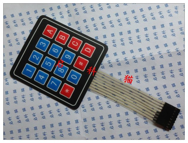 Super Microprocessor Display Matrix Keyboard Membrane Switch Membrane Wiring Digital Resources Jebrpcompassionincorg