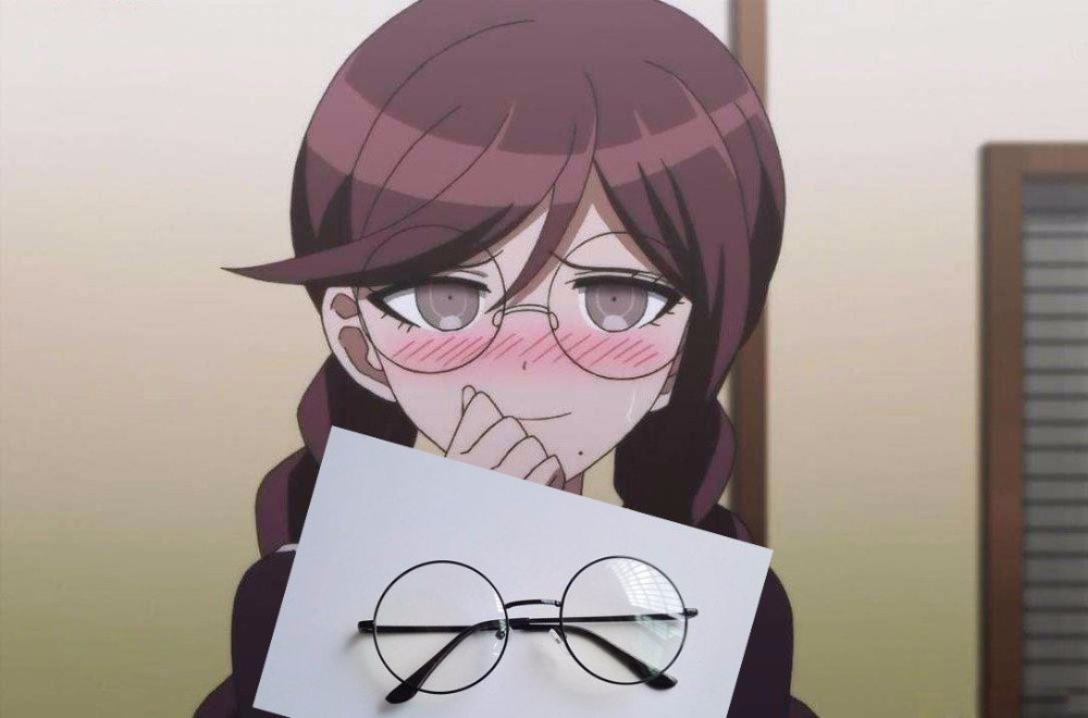 Danganronpa Touko Fukawa Glasses Black Frame Cosplay ...