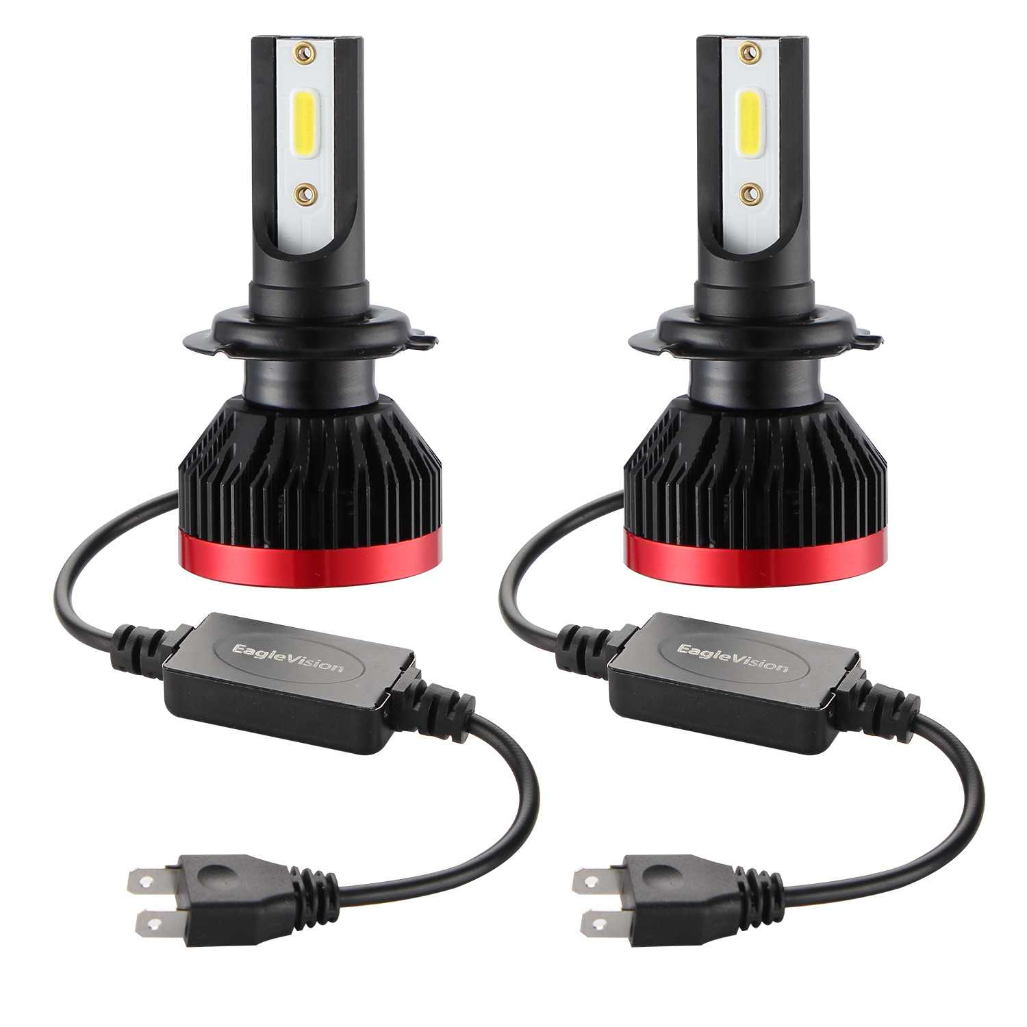 2Pcs H7 LED H4 H11 LED H1 9005 9006 Auto Car Headlight Bulbs 110W 26000LM  Car Light 6000k Led Automotivo DC12V 24V