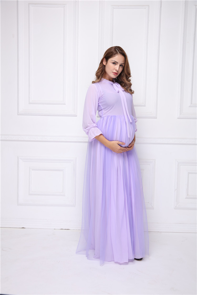 c32f1ac8e3de4 Detail Feedback Questions about Maternity Purple Chiffon Lace ...