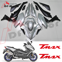 High Quality Tmax530 Fairing Kit Bodywork Bolts for Yamaha Tmax 530 2017 2018 2019 Tmax Fairing ABS Plastic Injection White все цены