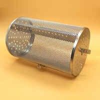 Rôtissoire grille panier acier inoxydable pour four vert café torréfacteur broyeur filtre BBQ cacahuète machine à rôtir maille