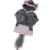EABoutique nova moda casacos de inverno das crianças espessamento Animais Raposa Lobo traje de lã crianças casaco com capuz casuais