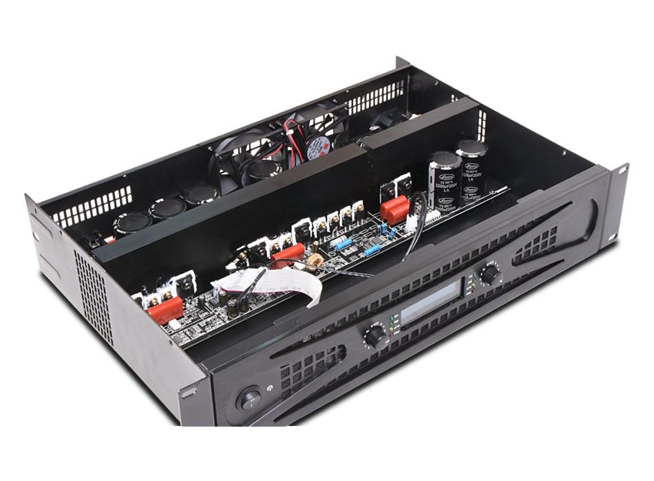 Tulun играть DIP1300 2-Канальный Профессиональный Мощность Усилитель Mosfet Усилитель 2x1300 Вт стерео класса D