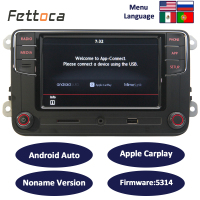 RCD330 6RD035187B RCD330 plus Android Auto CarPlay 6.5MIB Car Radio For skoda Golf 5 Jetta MK5 MK6 CC Tiguan Passat B6 B7 Polo