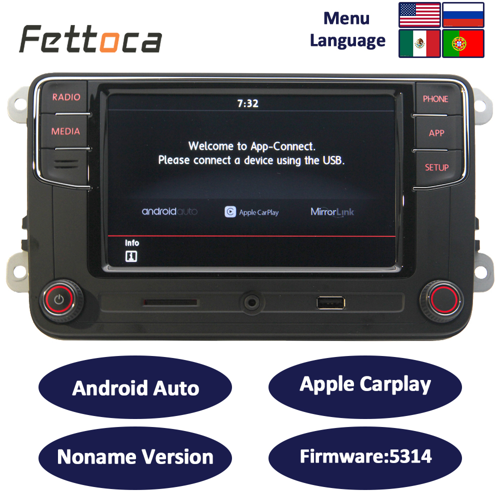 RCD330 6RD035187B RCD330 plus Android Auto Car play 6.5