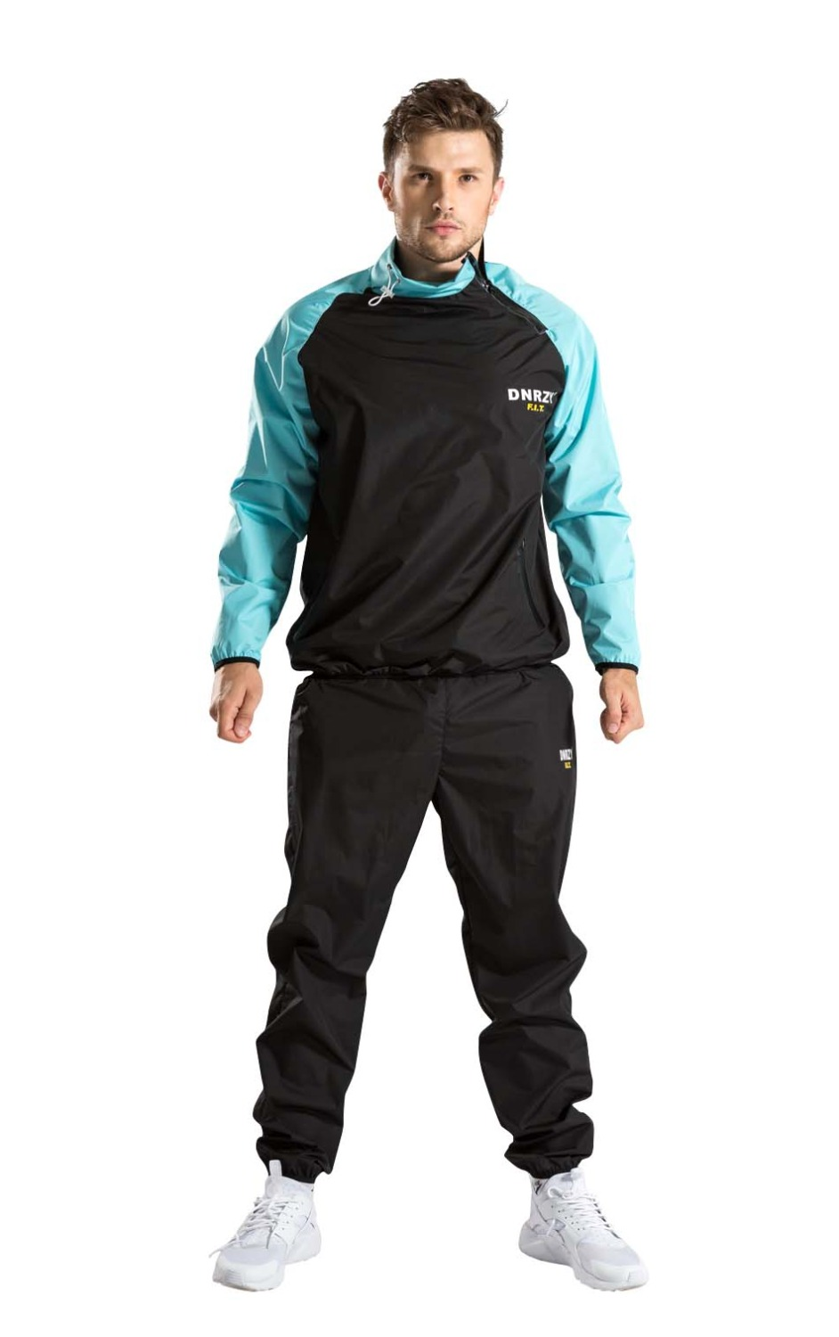 Bonverano Men's Sweat Sauna Suit Lose Weight Black Sky Blue blue sky чаша северный олень