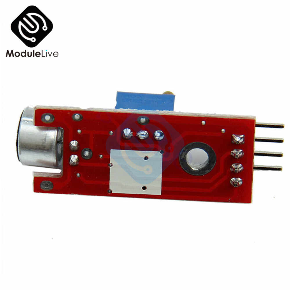 وحدة كشف مستشعر ميكروفون صوتي عالي الحساسية وجهاز إرسال مايكروفون آلي ذكي للسيارة لـ Arduino AVR PIC