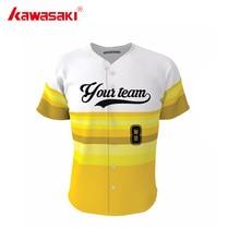 Kawasaki Genuine Custom Men&Women Baseball Sports Jersey Shirt Breathable Collage Stripes Style Kids Softball Jerseys