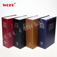 WOFO Dictionary Secret Book Piggy Bank Safes Simulation Money Jewelry Insurance Storage Boxes With Key Lock