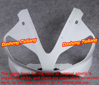GZYF Injection Mold ABS Upper Front Parts Fairing Cowl Nose for Yamaha YZF R1 2000 2001