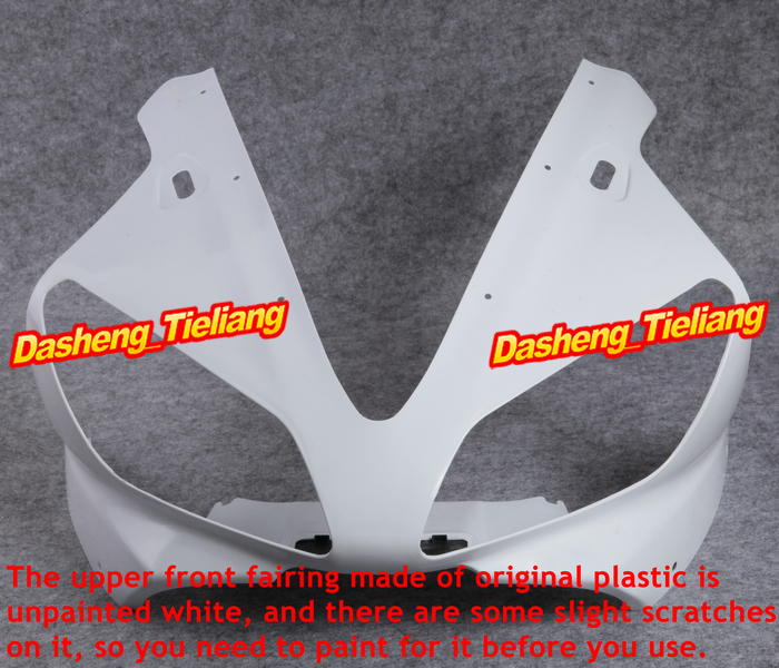 Injection Mold ABS Upper Front Parts Fairing Cowl Nose for Yamaha YZF R1  2000 2001 microwave oven parts plastic injection mold cnc machining household appliance mold