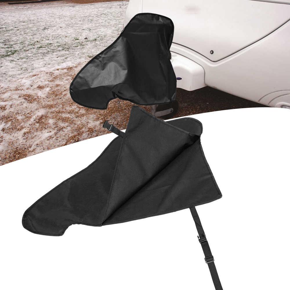 Tahan Air Caravan Hitch Cover PVC Trailer Tow Ball Coupling Kunci Bernapas Debu Hujan Salju Tahan Debu Pelindung Aksesoris Mobil