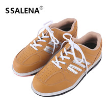 Men Bowling Skidproof Sole Professional Shoes Sports Slip Fitness Sneakers Women Models Breathable Training Shoes AA11043