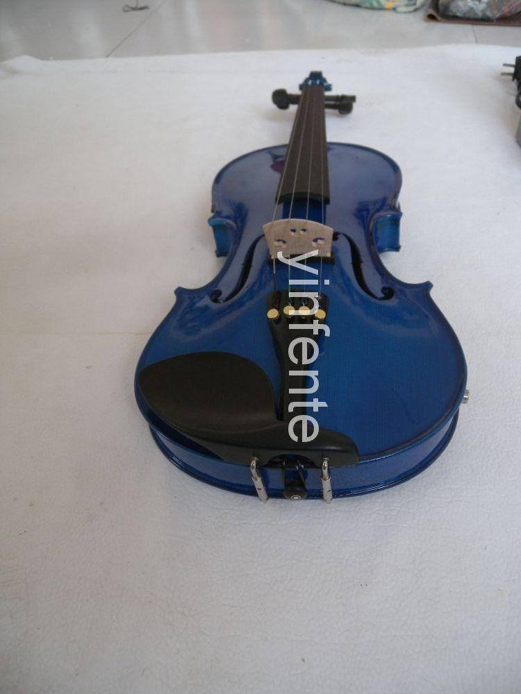 4/4 Electric Acoustic Violin fine sound + case + bow #1 new 4 string 4 4 electric acoustic violin patent silent fine sound 1