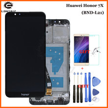 Huawei Honor 7X LCD Display Touch Screen Test Good Digitizer Assembly Replacement Screen For Huawei Honor7X BND-AL10 BND-L21/L22 aa084sa01 lcd screen 100% test good quality new